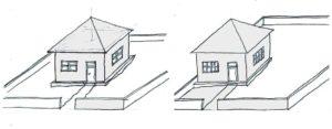 Pozicija kuće na placu 2